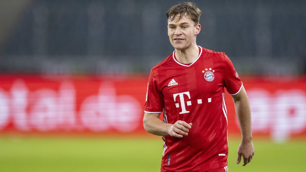 Joshua Kimmich zieht im Bayern-Mittelfeld die Fäden
