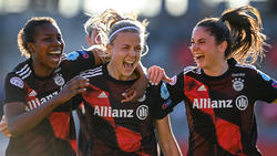 Die Frauen des FC Bayern München haben einen großen Schritt in Richtung Champions-League-Finale gemacht