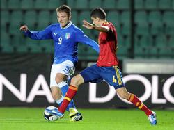 In der spanischen U21 gesetzt: Marc Bartra (r.)