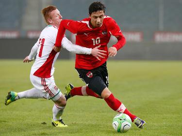 Robert Žulj drehte mit dem ÖFB-U21-Team gegen Ungarn nach der Pause mächtig auf