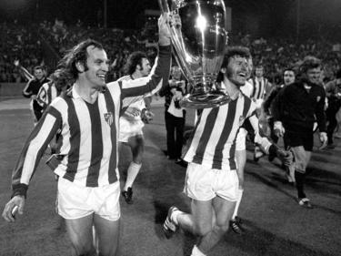 Die Bayern-Spieler bezwangen im Jahr 1974 Atlético Madrid im Finale