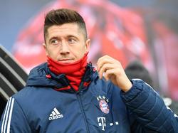 Robert Lewandowski hat in München noch einen Vertrag bis 2021