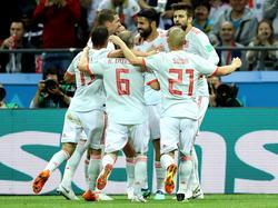Spanien reichte ein Tor am Mittwochabend