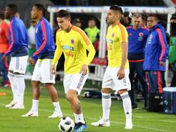 James Rodríguez und Radamel Falcao fahren mit Kolumbien zur WM