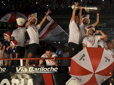 El River Plate celebra su triunfo en el Monumental. (Foto: Getty)
