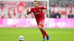 Die Zeit von Rafinha beim FC Bayern könnte bald enden