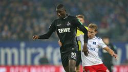Serhou Guirassy (l.) wird den 1. FC Köln wohl verlassen