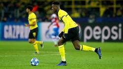 Dan-Axel Zagadou könnte gegen Tottenham wieder zum BVB-Kader gehören
