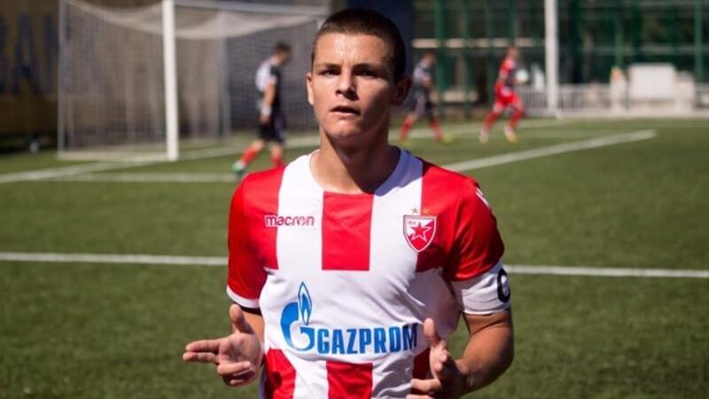 Dejan Joveljic steht angeblich beim VfB Stuttgart auf dem Zettel (Bildquelle: twitter.com/serbianfooty)