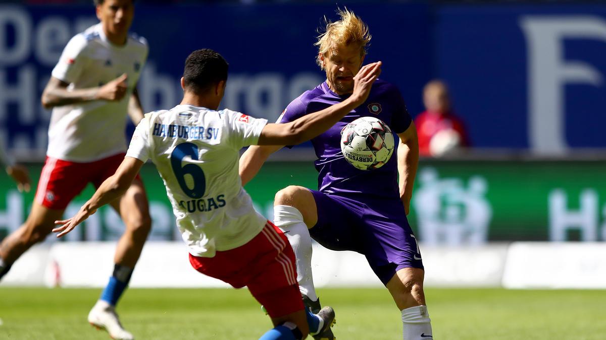 HSV patzt auch gegen Erzgebirge Aue