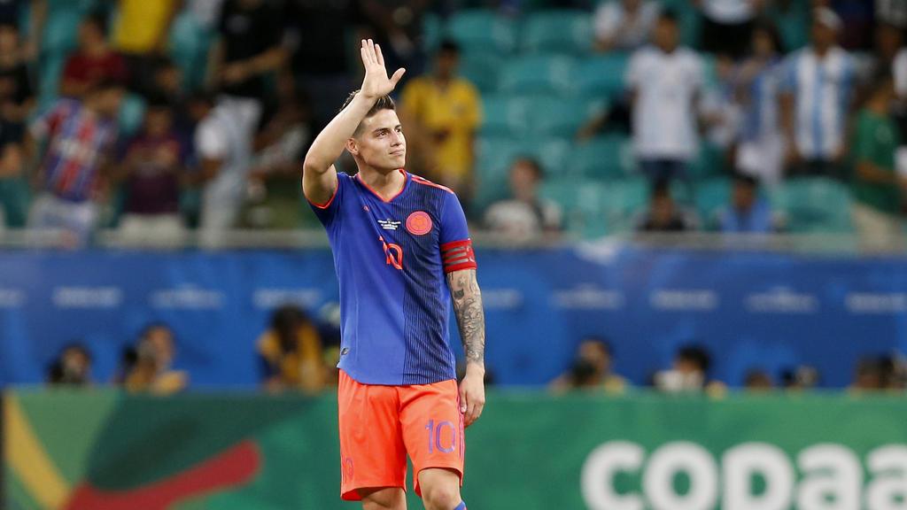 James Rodríguez nach Abschied vom FC Bayern vor Wechsel in die Serie A