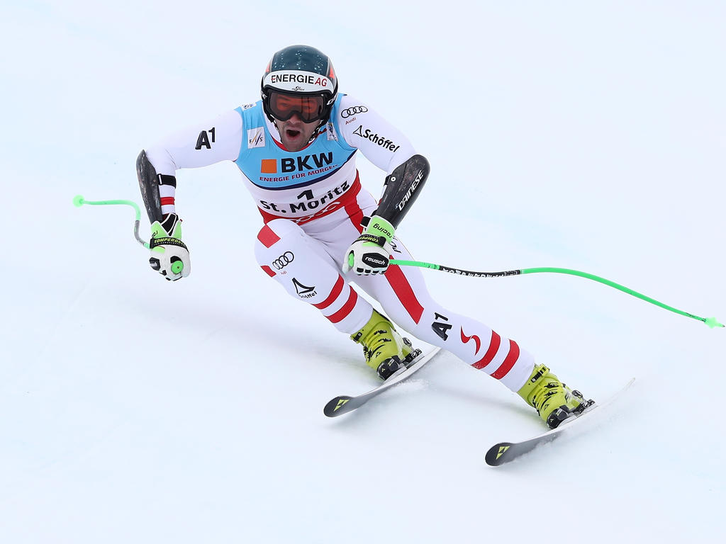 Vincent Kriechmayr war beim Training 1,3 Sekunden schneller als der Zweitplatzierte