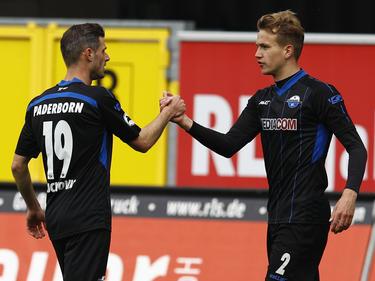 Paderborn gewann mit 3:1 gegen die Sportfreunde Lotte