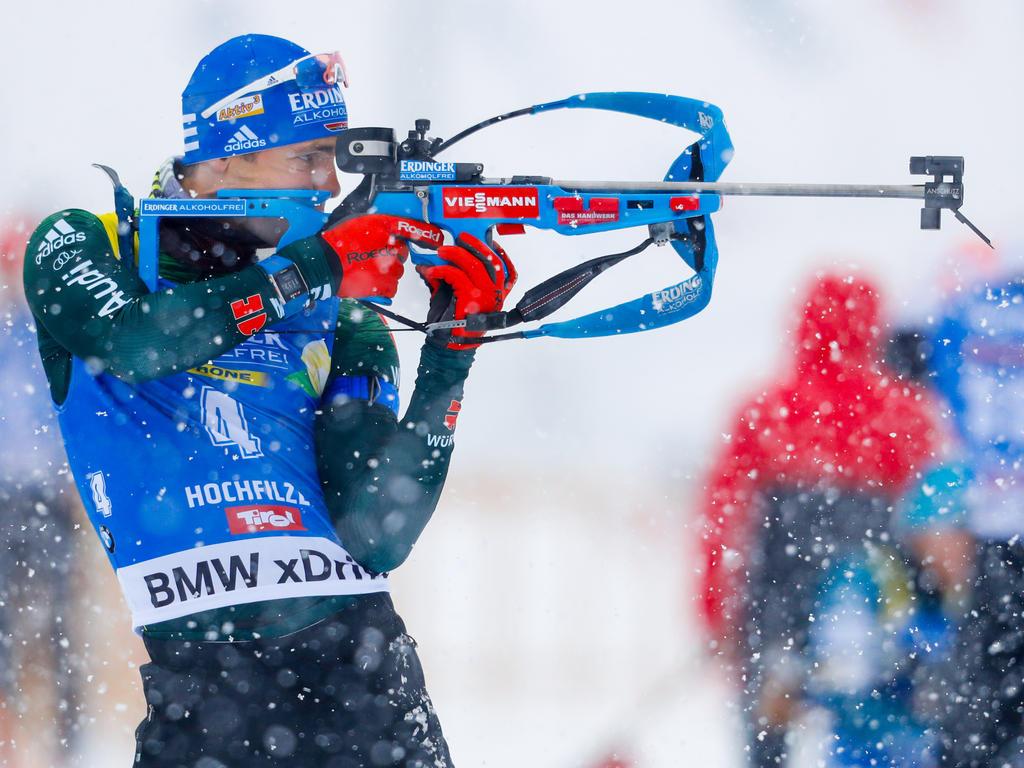 Simon Schempp rettete in der Verfolgung noch den fünften Platz
