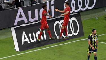 Der FC Bayern gewann im Halbfinale gegen Fenerbahce deutlich mit 6:1