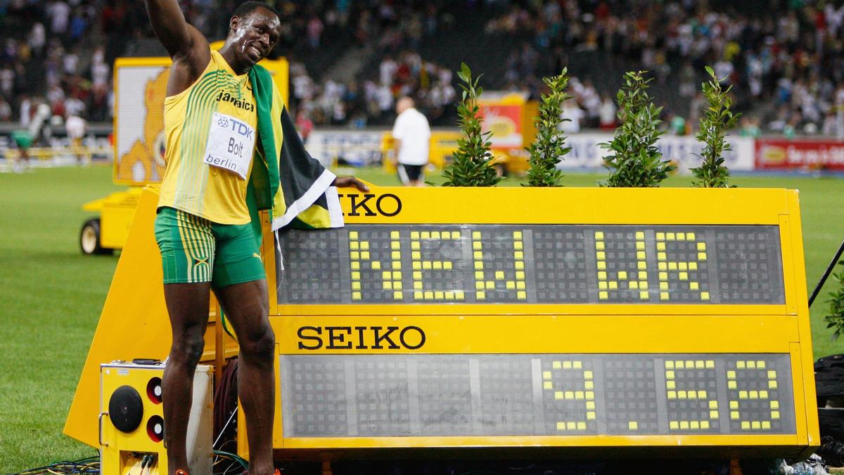 Vor 10 Jahren lief Usain Bolt in Berlin 9.58