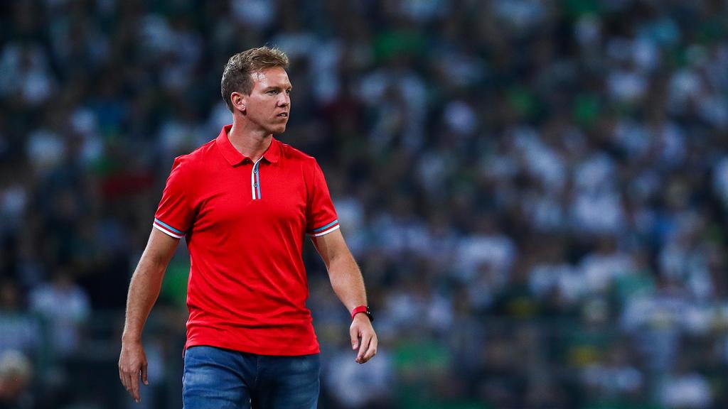 Julian Nagelsmann erwartet ein brisantes Duell gegen den FC Bayern