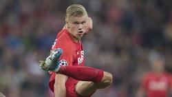Erling Haaland soll auf dem Einkaufszettel des BVB, von RB Leipzig und Manchester United stehen