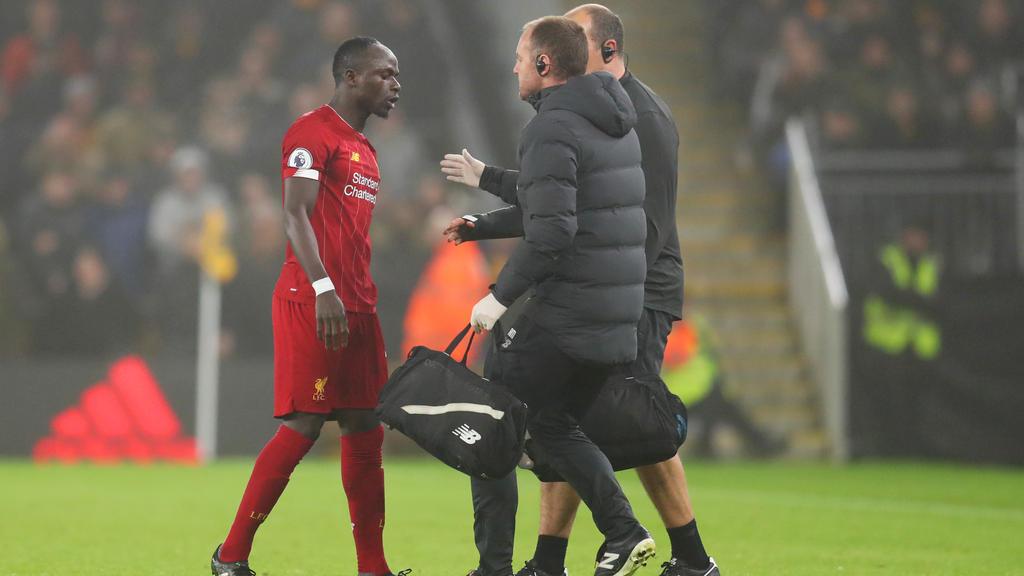 Sadio Mané fehlt Liverpool vorerst