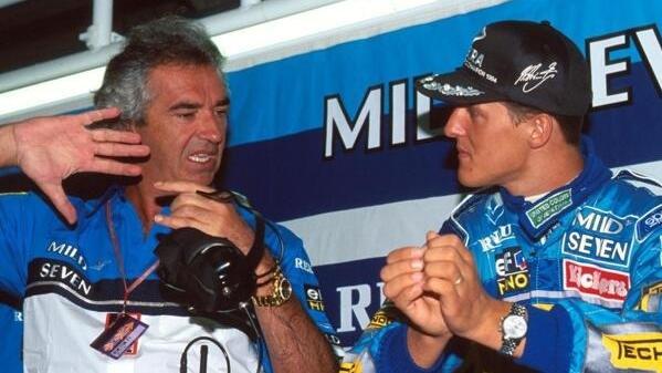 Laut Flavio Briatore kam nur ein Teamkollege an Schumacher heran