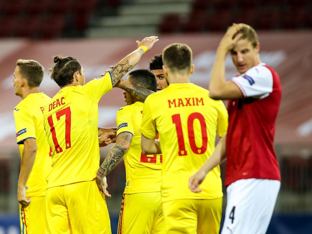 Enttäuschende Niederlage für Österreich gegen Rumänien
