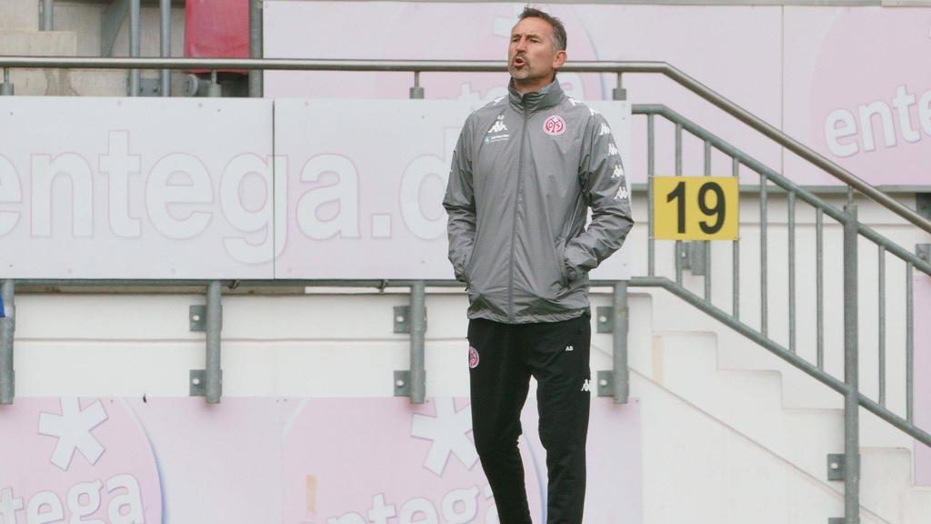 Achim Beierlorzer muss seinen Trainerstuhl in Mainz räumen