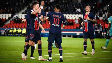 Die Pariser bejubelten den nächsten Sieg