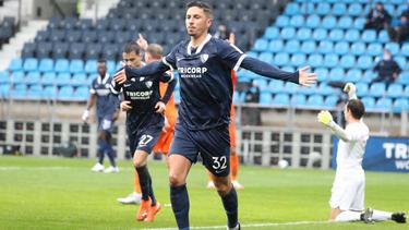 Robert Zulj erzielte das 1:0 für seine Farben