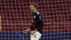 Thomas Müller traf für den FC Bayern vom Punkt