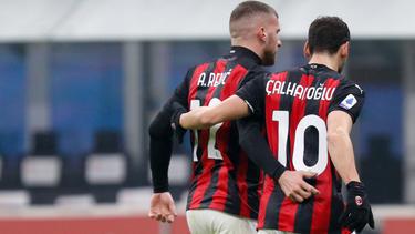 Calhanoglu und Rebic trafen für den AC Milan