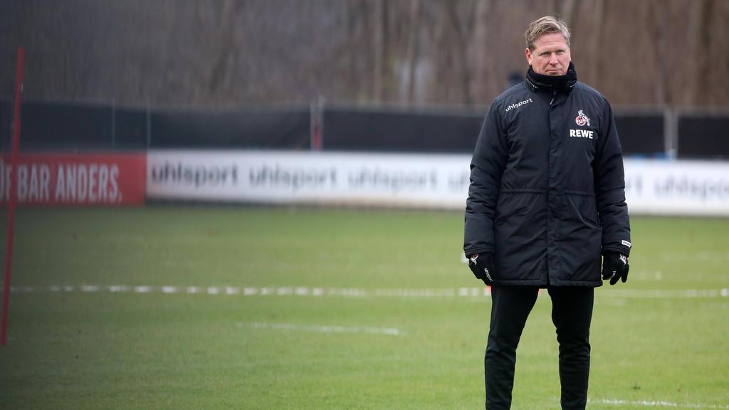Steht Markus Gisdol beim 1. FC Köln vor dem Aus?