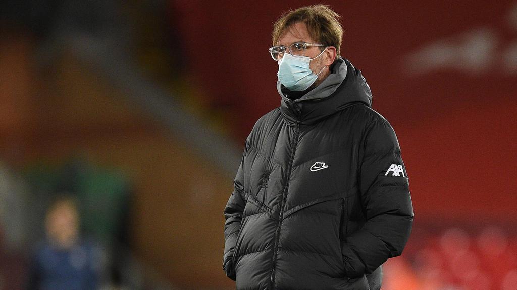 Jürgen Klopp steht nach der nächsten Niederlage mit dem FC Liverpool in der Kritik