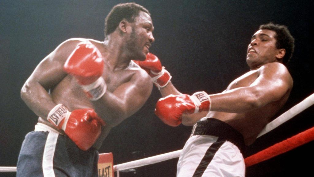 Muhammad Ali und Joe Frazier trafen im