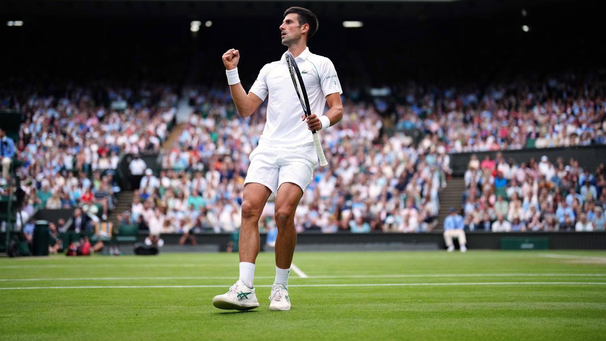 Djokovic steht im Wimbledon-Finale