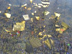 Die Fans der Südtribüne sind gegen die Montagsspiele in der Fußball-Bundesliga