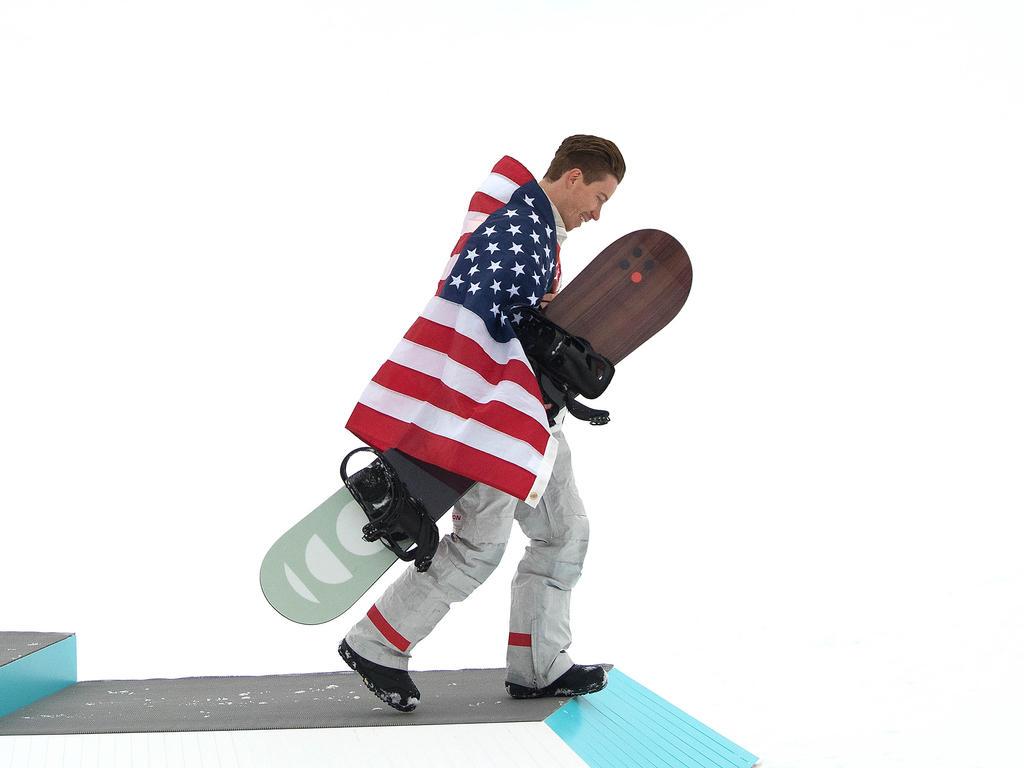 Shaun White wurde zum dritten Mal Olympiasieger