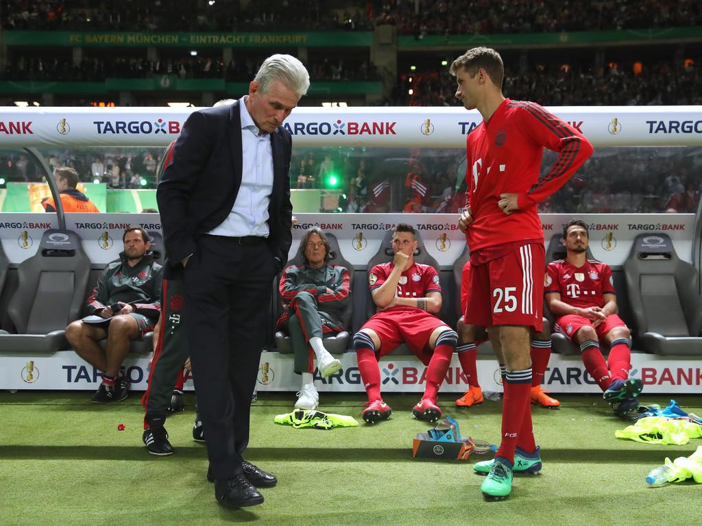 Die Bayern-Profis waren nach dem Pokal-Finale enttäuscht und sauer