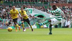 Moussa Dembélé brilló con un doblete. (Foto: Getty)