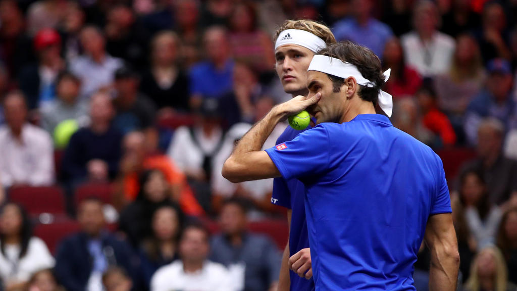Europa-Duo Zverev/Federer verliert gegen US-Team