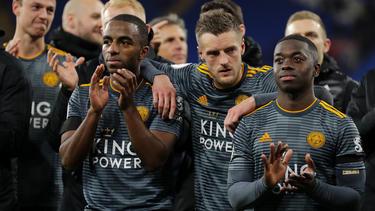 Leicester City erinnerte vor und nach dem Spiel an den verstorbenen Klubeigentümer