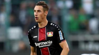 Dominik Kohr erzielte zwei Treffer für Bayer Leverkusen