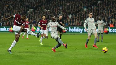 West Hams Michail Antonio trifft zum verdienten Ausgleich gegen Liverpool