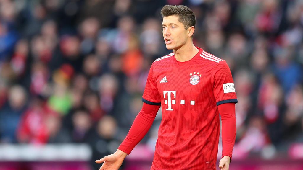 Im Mittelpunkt der Kritik: Robert Lewandowski vom FC Bayern München