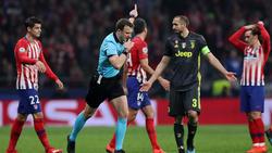 Juventus verlor bei Atlético Madrid mit 0:2