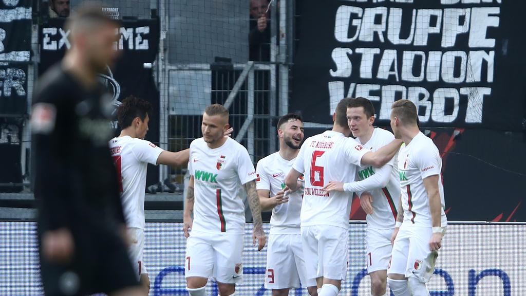 Der FC Augsburg besiegte Eintracht Frankfurt