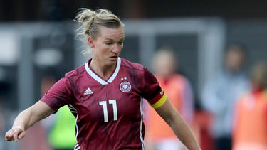 Alexandra Popp ist Kapitänin der deutschen Nationalmannschaft