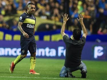 Tévez fue recibido y despedido con una ovación por miles de fanáticos. (Foto: Imago)
