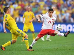 Durch eine starke EM 2016 spielte sich Kapustka (r.) ins Visier vieler Top-Klubs