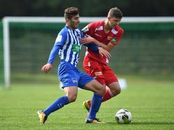 Muhamed Kiprit (l.) könnte bald für Wolfsburg auflaufen
