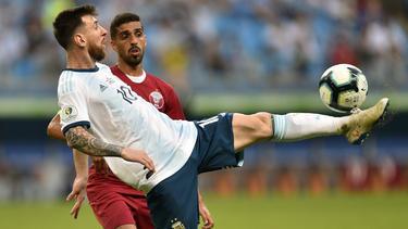 Lionel Messi und Argentinien stehen im Halbfinale